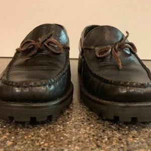 Cole Haan Shoes - COLE HAAN Country Black Leather Shoes Loafers